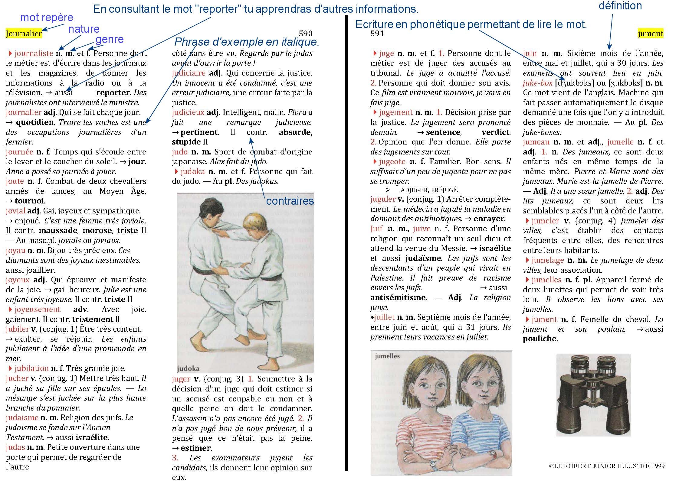 L 39 utilisation du dictionnaire for Dans wiktionnaire